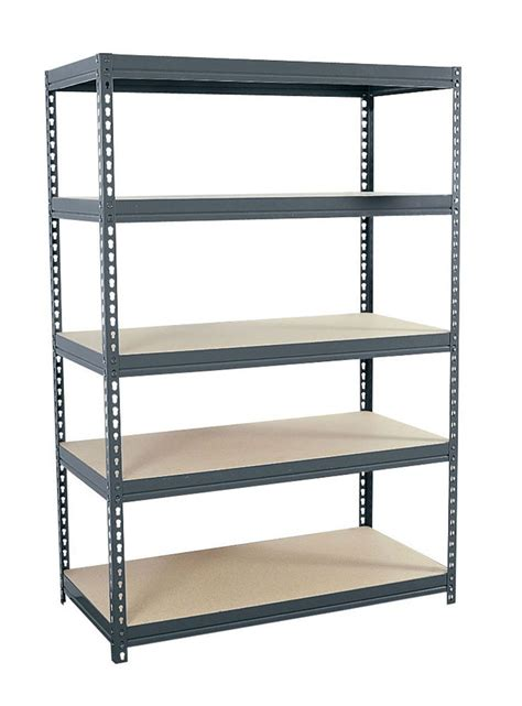 heavy duty steel shelving boltless in heavy duty storage