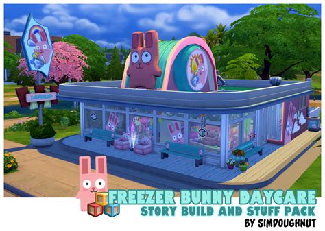 freezer bunny sims 4 my sims 4 blog freezer bunny daycare and stuff pack by