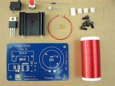 Small Tesla Coil Kit Mini Tesla Coil Teaching Experiment Experiment Science