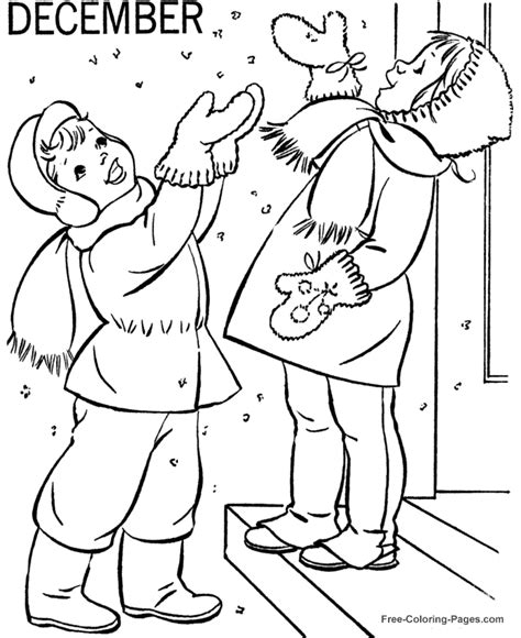 coloring book pages winter winter coloring book pages december 02