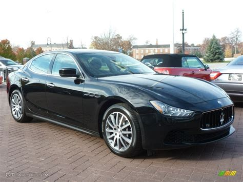 Black On Black Maserati by Maserati Ghibli Black