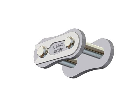 Senqcia Roller Chain Rantai Rs 40 2 senqcia ultra max 174 40crp chrome hardened pin connecting link clip type asme ansi standard
