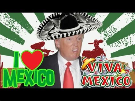 donald trump i love mexican people vines remix youtube