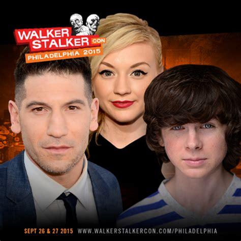 walker philadelphia walker stalker con 2015 rolls on to philadelphia