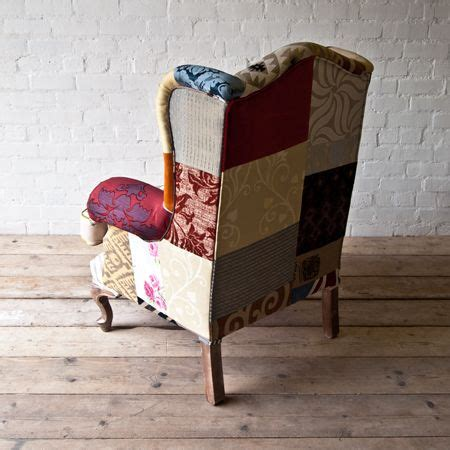 Patchwork Wingback Chair - 17 best images about patchwork on