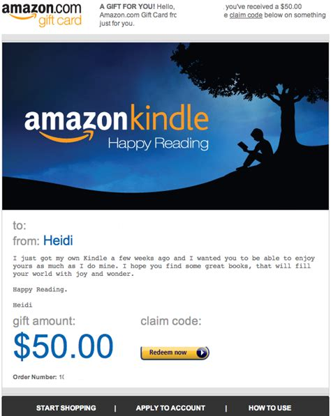 Where To Get Kindle Gift Cards - 50 amazon kindle gift card r books 2011 redditgifts