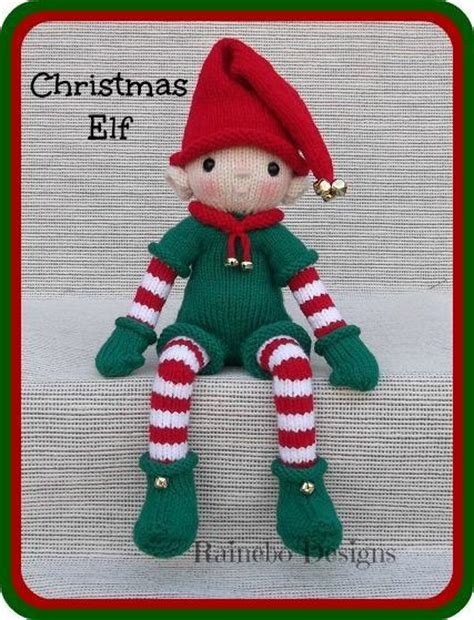 Knitting Pattern Christmas Elf | knit christmas elf by rainebo craftsy