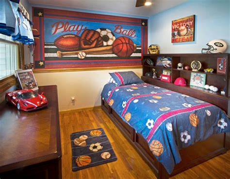 sports bedroom wallpaper kids room wall murals theme wallpaper