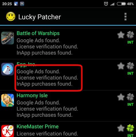 aplikasi hack mod game android cara menggunakan aplikasi lucky patcher untuk hack in app