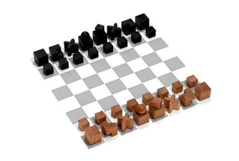 when modern art met the classic chess set arts amp culture