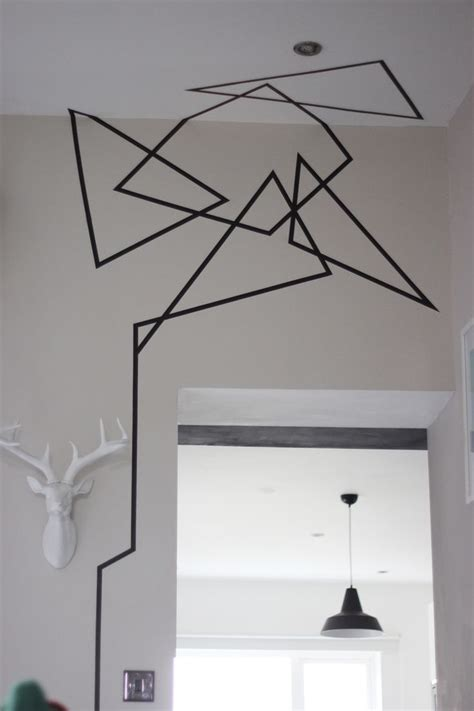 house remodel ideas diy wall 25 best ideas about tape wall art on pinterest tape art