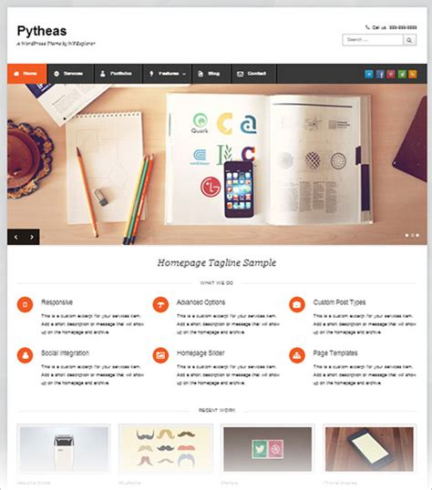wordpress themes free top 10 10 best free responsive wordpress themes for business