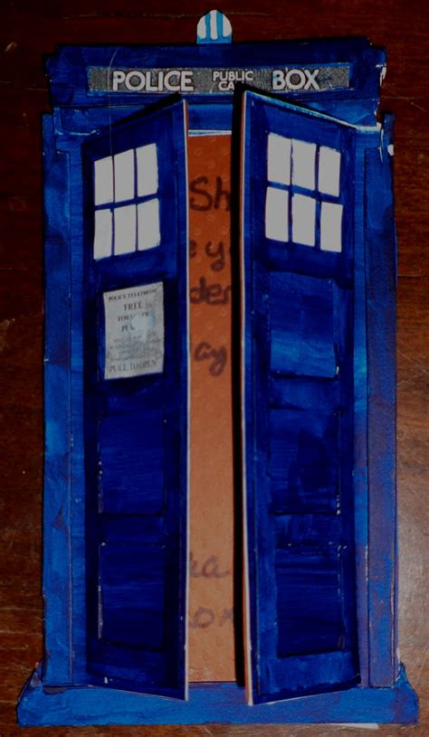 Tardis Birthday Card By Sonickingscrewdriver On Deviantart Doctor Who Birthday Card Template