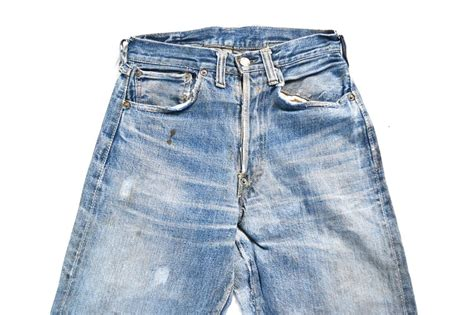Levis Handcrafted - original vintage pair of levi s 501xx from 1937
