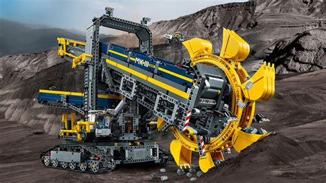 technic bucket wheel excavator 42055 bucket wheel excavator products 174 technic
