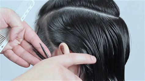 cutting wet hair in the shower dry cutting vs wet cutting what s best miladypro