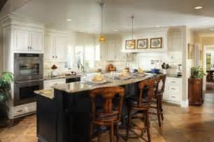 2 level island kitchen ideas