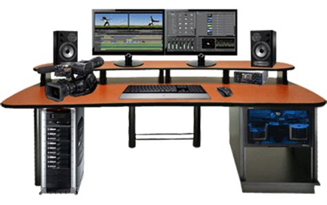 Editing Workstation Desk by Editing Solutions In Boston New Powered
