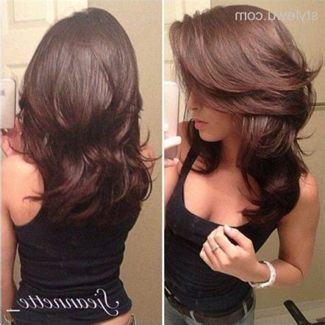 hairstyles for step cut curly hair layered hairstyle back view for men and women sweet haircuts