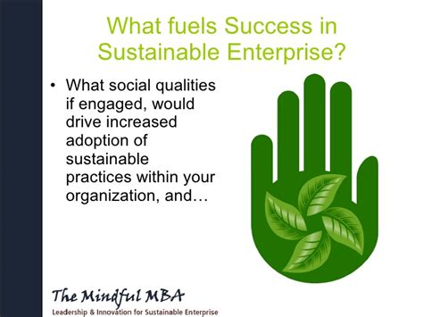 Of Carolina Mba In Sustainable Enterprises cultivating social capital community engagement for