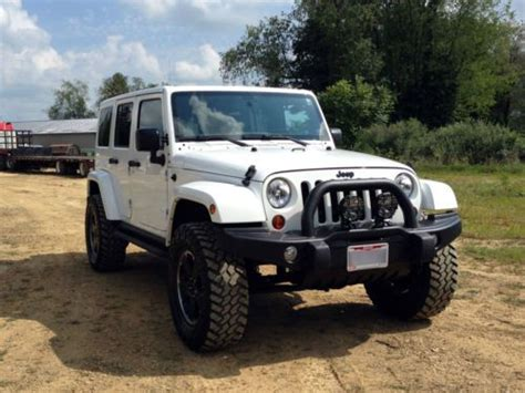 Used Jeep Bumpers Find Used 2012 Jeep Wrangler Unlimited Altitude