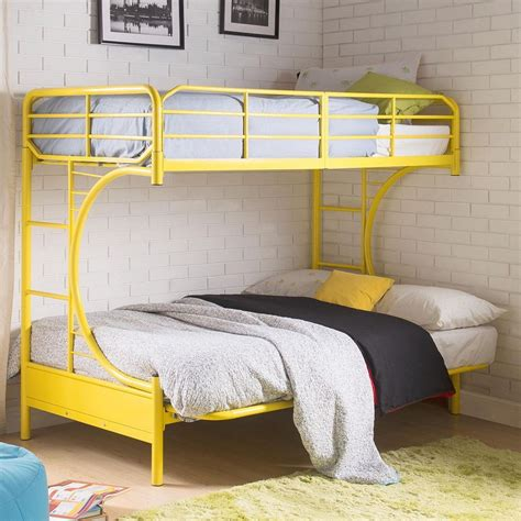 Acme Eclipse Bunk Bed Eclipse Yellow Futon Bunk Bed From Acme Coleman Furniture