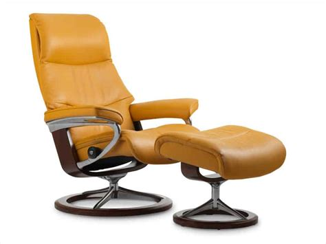 stressless chairs sale stressless view leather recliner ottoman best price