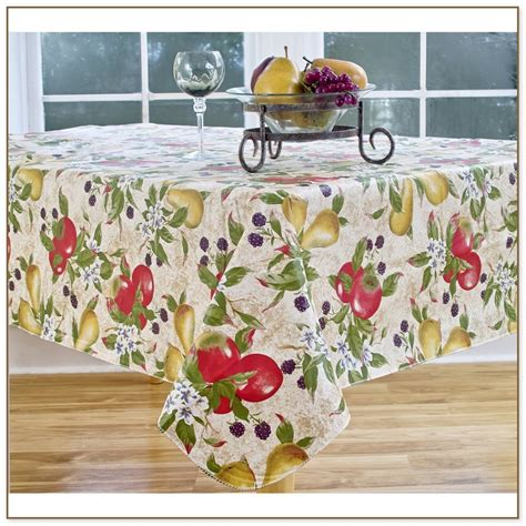 120 Inch Vinyl Tablecloth by 70 Inch Vinyl Tablecloth