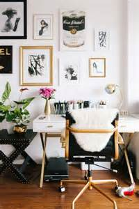 Desk With Chair Design Ideas 25 Best Gold Home Decor Ideas On Gold Accents Gold Accent Decor And Best Diy
