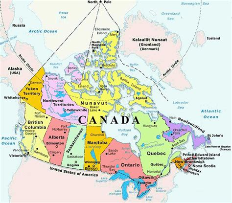 map of canadian provinces canada globalreach ca