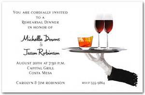 server s tray cocktail invitations