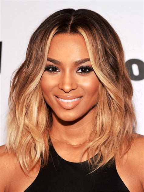 shoulder length weaves for black women medium hairstyles