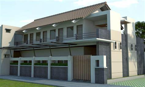desain rumah kost  model minimalis rumahku