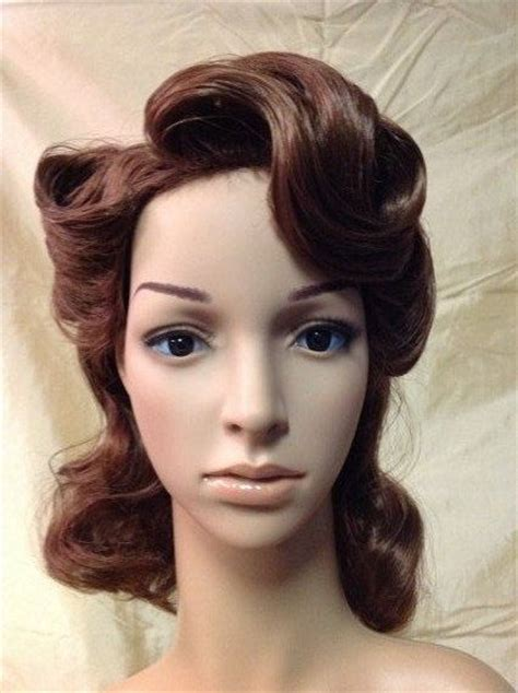 agent carter hairstyle peggy carter wig cosplay wigs pinterest etsy and wigs