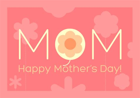 mothers day card template word design a beautiful s day card in microsoft word