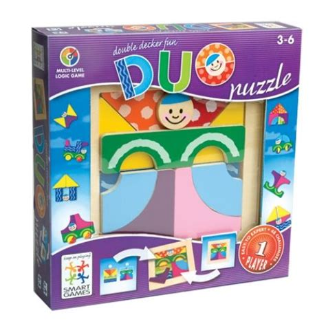 Smart Games Duo Puzzle Logic Game My Girl Pinterest Smart Puzzle