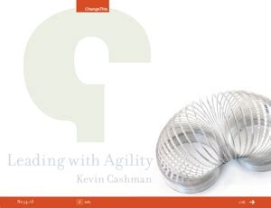 learning agility the key to leader potential books change this leading with agility