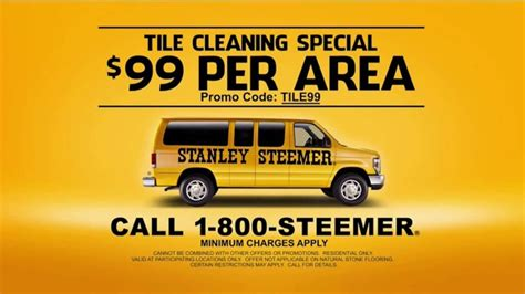 stanley steemer tile cleaning special tv commercial