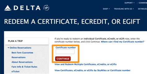 Can I Redeem Delta Skymiles For Gift Cards - using delta gift certificates to meet minimum credit card spend