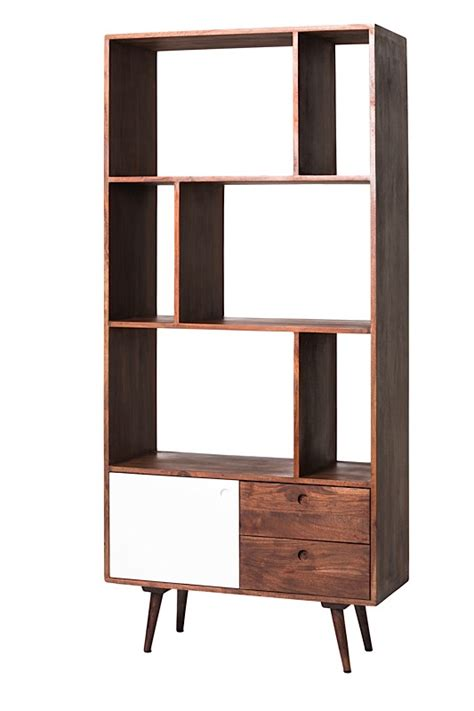 blossom bookcase small modern digs furniture