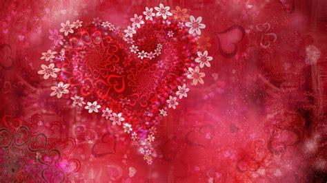 wallpaper flower with heart hd love heart flowers wallpaper backgrounds 8153 the