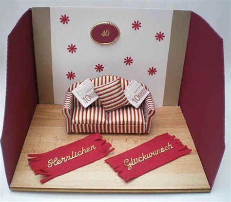 ein sofa f 252 r ein neues sofa geldgeschenke basteln money gifts