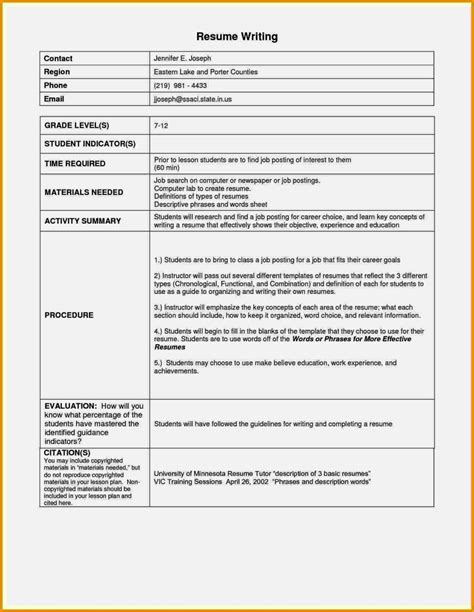 resume sle doc sle resume for teachers india doc cover letter for