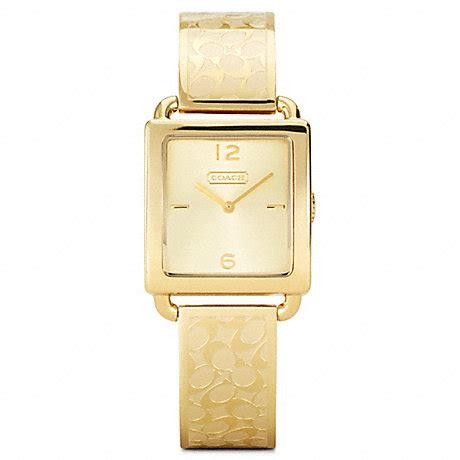Coach Legacy Gold coach w1148 legacy gold plated bangle 30977