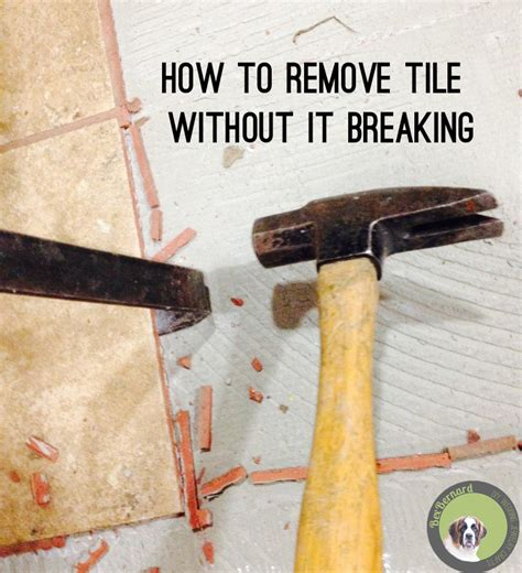 How To Tile A Kitchen Floor Without Removing Cabinets by How To Remove Tile Without It Breaking Bexbernard
