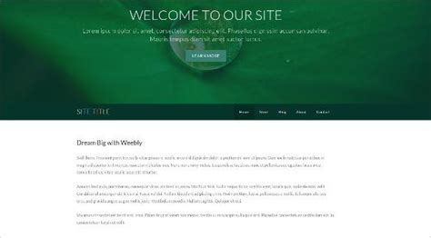 weebly pro templates 20 gorgeous free weebly templates utemplates