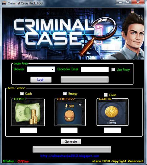 download game criminal case mod cheat keygen and hack for all games