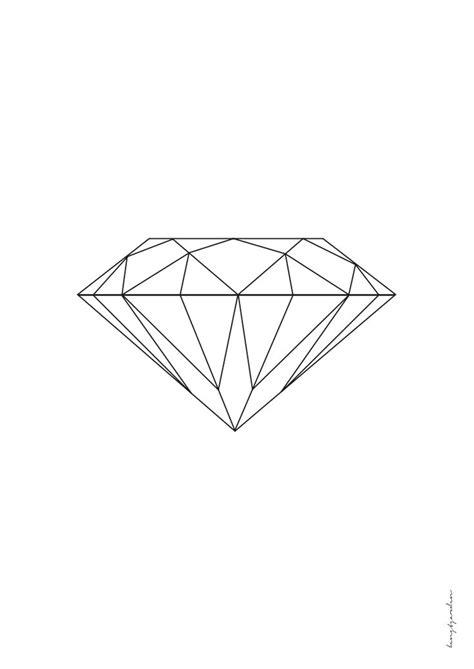diamond tattoo geometric diamant a3 pdf d i y p a p e r pinterest pdf