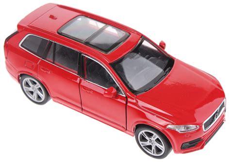 speelgoed xc90 welly schaalmodel volvo 2015 xc90 rood internet toys