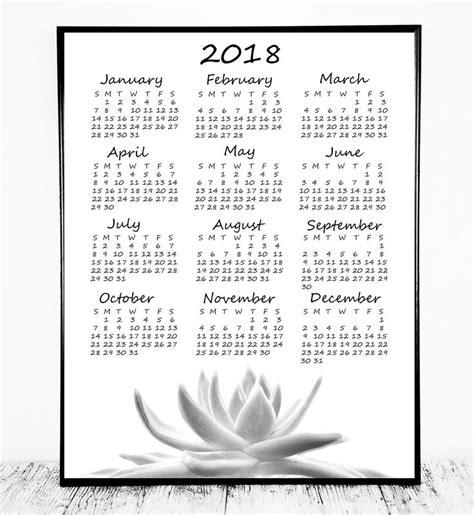 printable calendar 2018 free download yearly calendar templates